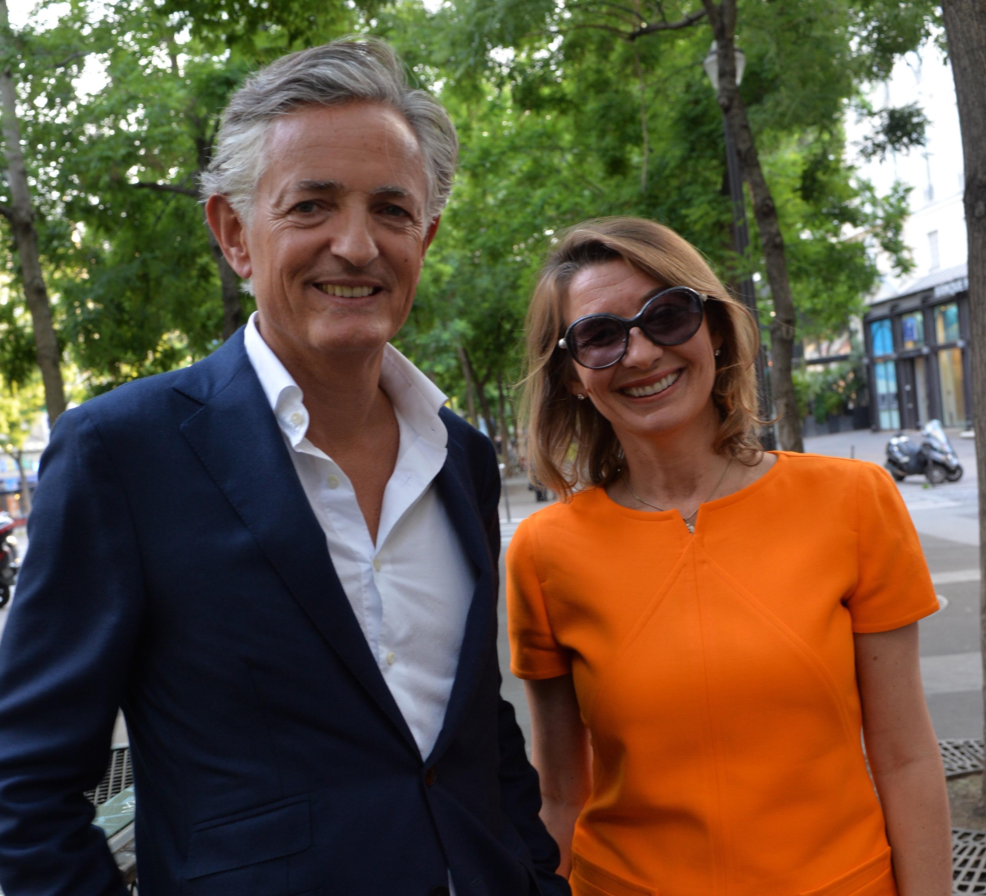 Karine Sarre et JC Danchaud
